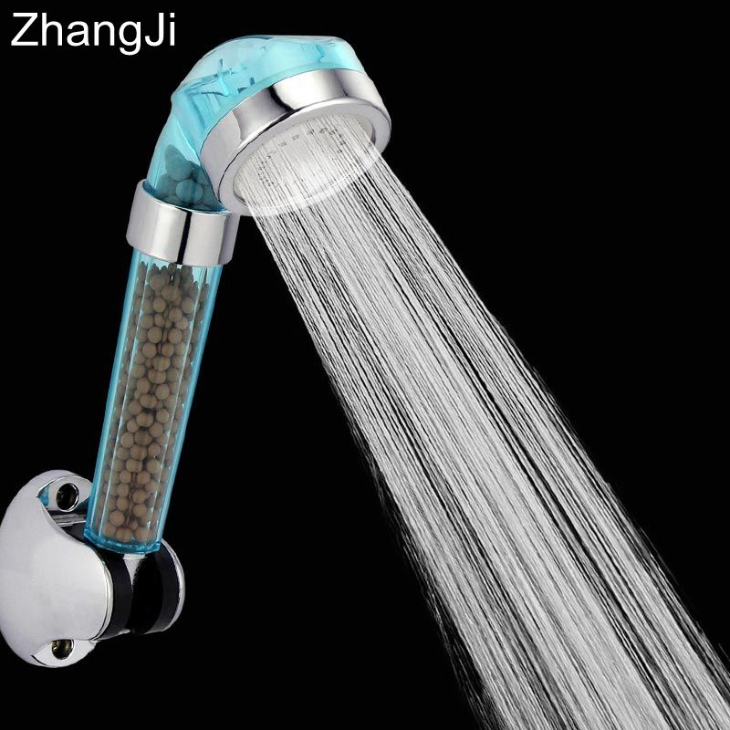 Hot Anion Filter SPA Shower Head Water Saving Quality High Pressure ...