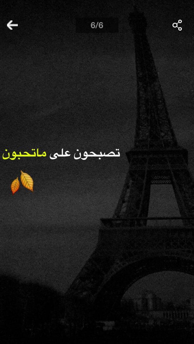 تصبحون على خير Eiffel Tower Landmarks Poster