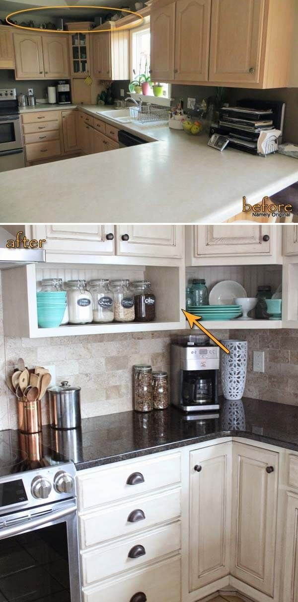 Top 21 Awesome Ideas To Clutter-Free Kitchen Countertops ... Ideas For Cluttered Kitchen Counter on hazard kitchen counter, clear kitchen counter, creative kitchen counter, burned kitchen counter, old kitchen counter, dark kitchen counter, organized kitchen counter, small kitchen counter, messy kitchen counter, checkered kitchen counter, crowded kitchen counter, clean kitchen counter, dirty kitchen counter,
