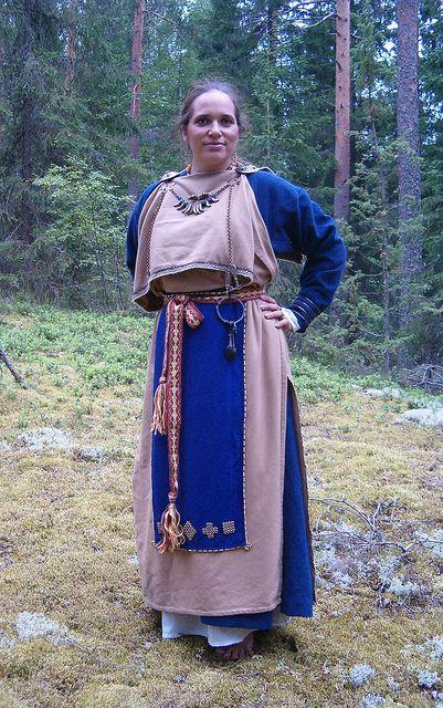 Flickriver Most Interesting Photos Tagged With Muinaispuku Viking Garb Norse Clothing Viking Woman