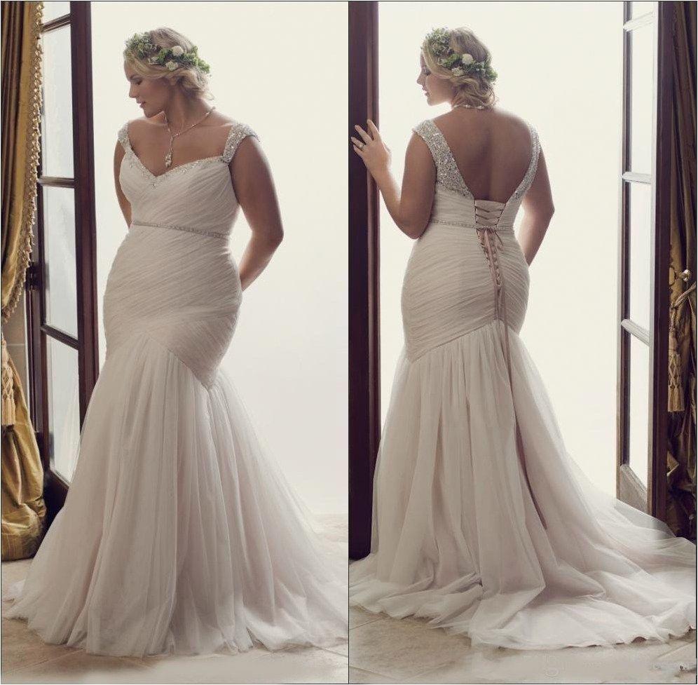 80 Plus Size Mermaid Wedding Dresses Inspiration For Your Gorgeous Wedding Wedding Dresses Unique Tea Length Wedding Dress Trendy Wedding Dresses [ 977 x 996 Pixel ]