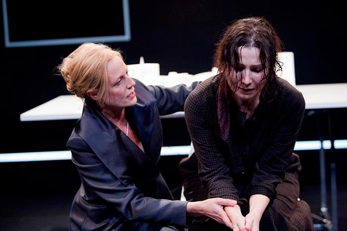 Marta Dusseldorp and Anita Hegh in Like a Fishbone, 2010