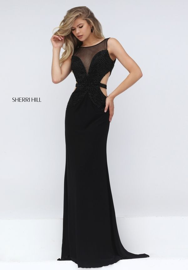 Style 50163 | Pinterest | Black prom dresses, Black prom and Prom