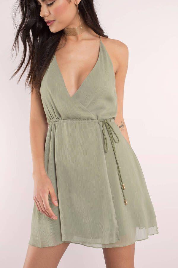 bcf0f2fafe64f It's a Wrap Dress in 2019 | DRESS SHOP | Dresses, Wrap dress, Olive ...