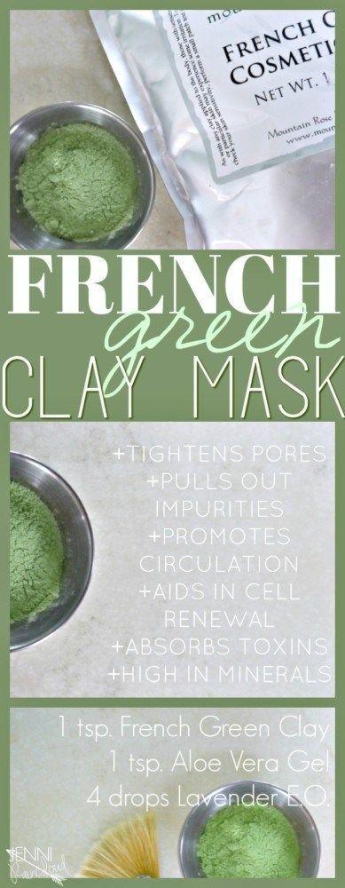 Photo of DIY French Green Clay Mask – Jenni Raincloud
