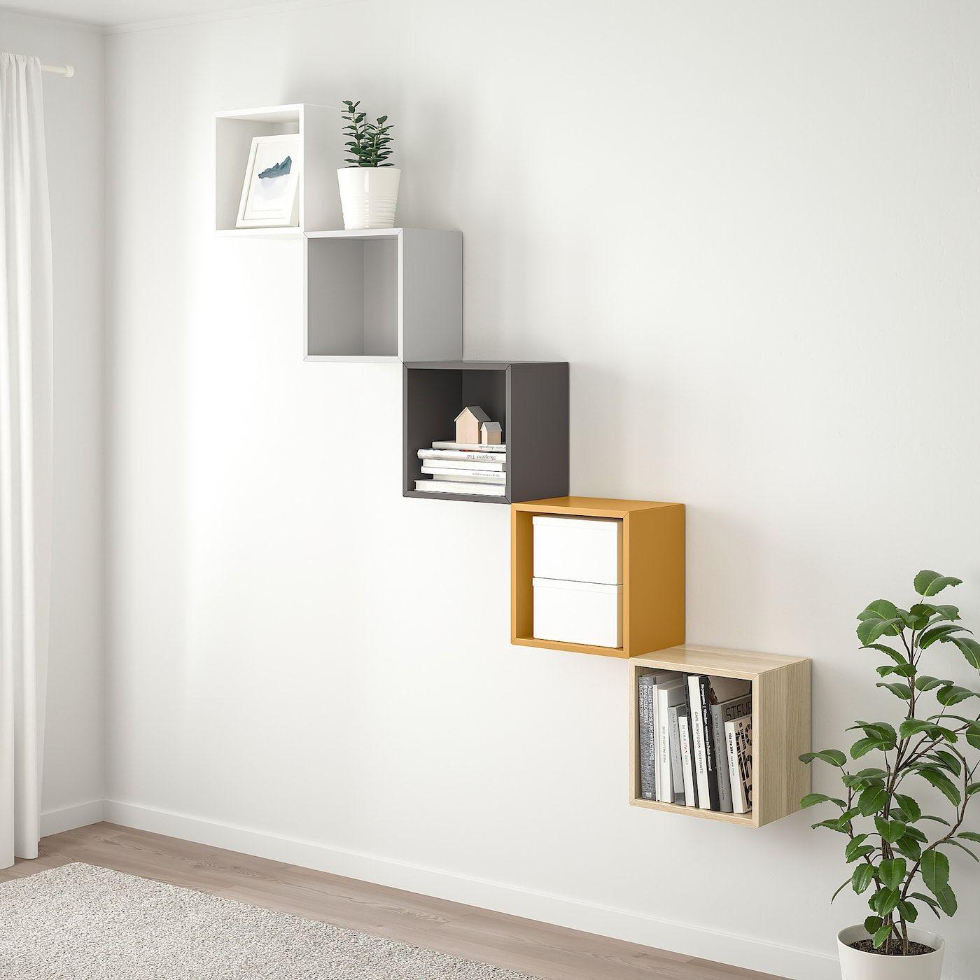 Eket Rangement Mural Multicolore 1 Site Web Officiel Ikea Eket Wall Shelves Design Ikea Eket