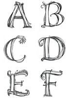 downloadable monogram letters and patterns