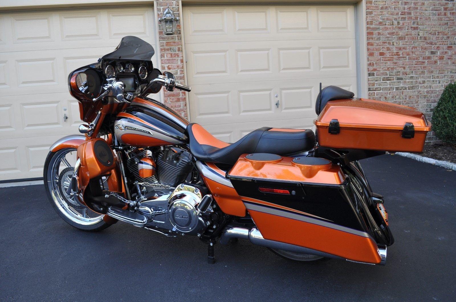 eBay: 2011 Harley-Davidson Touring Harley-Davidson CVO Street Glide Custom  Big Wheel