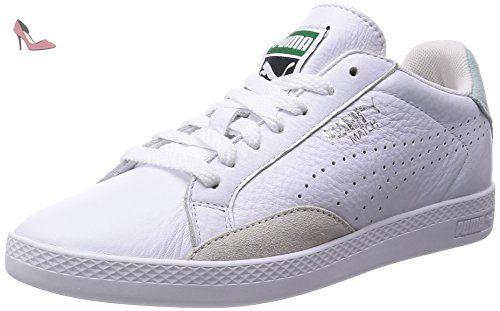 Puma Match Lo Basic Sports Wn's, Sneakers basses femme, Blanc (white/fair