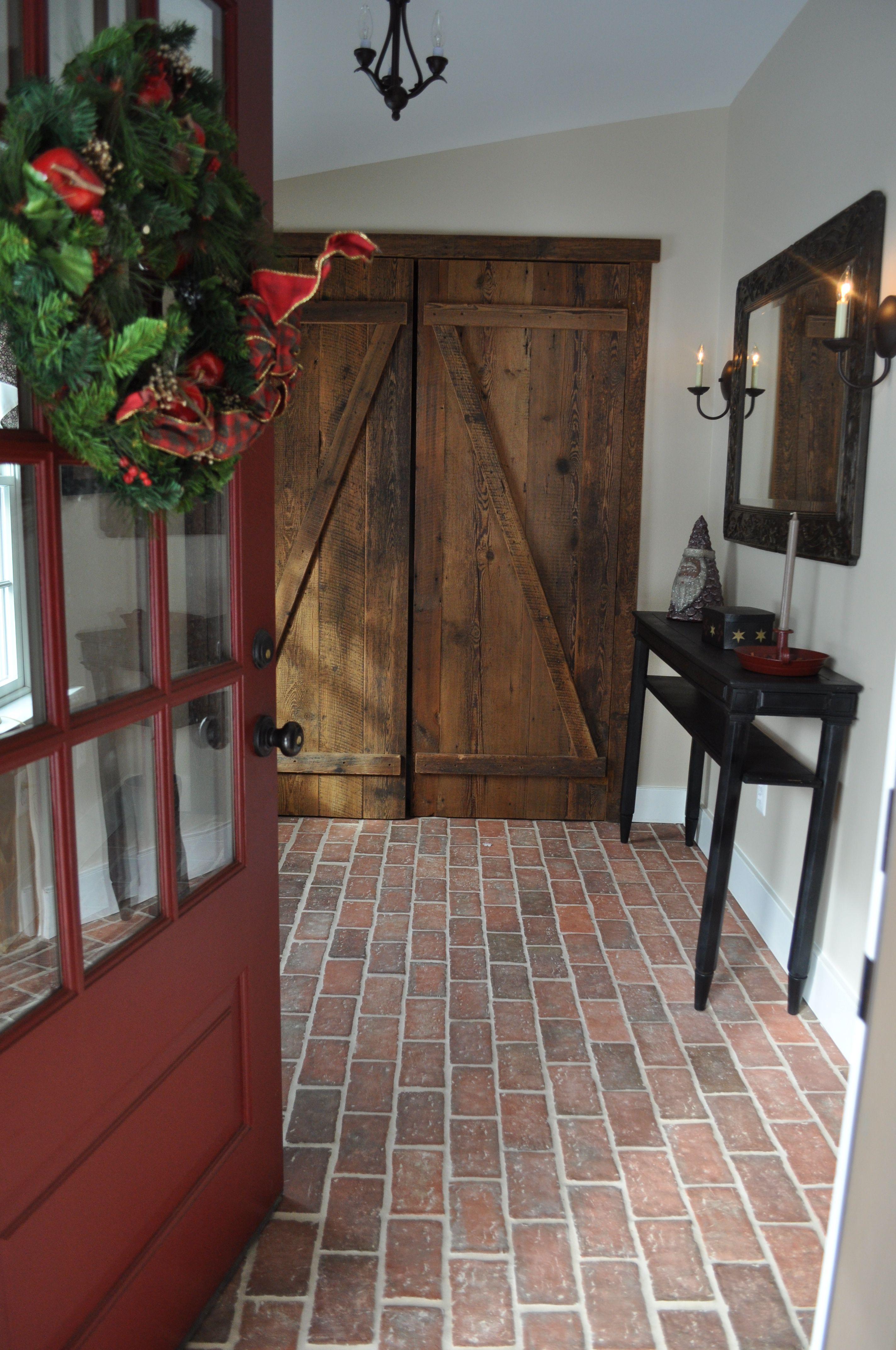 tumbled brick entryway - Google Search   Dream Home   Pinterest ...