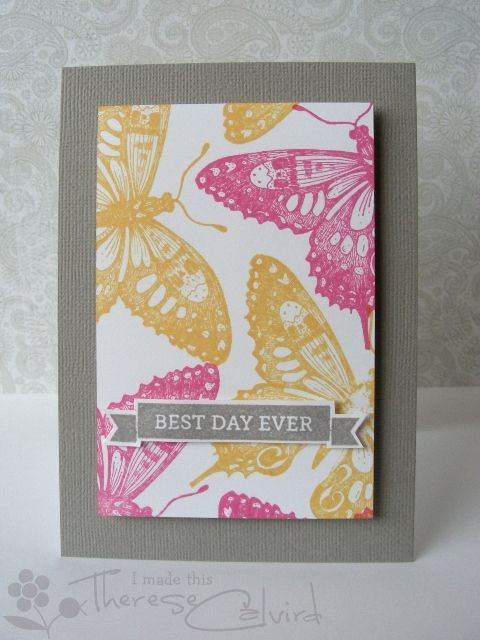 Best Day Ever Butterfly Cards Penny Black And Butterfly