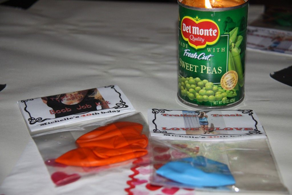 White trash party favors trailer trash boob job kits and love white trash party favors trailer trash boob job kits and love glove these were stopboris Image collections