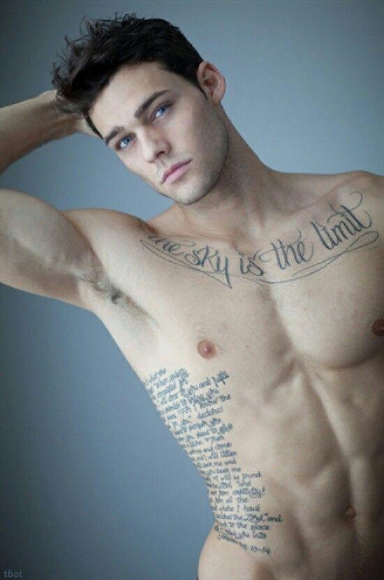 The Sky Is The Limit Tattoo Beautiful 3 Inked Men 3 Tattoos
