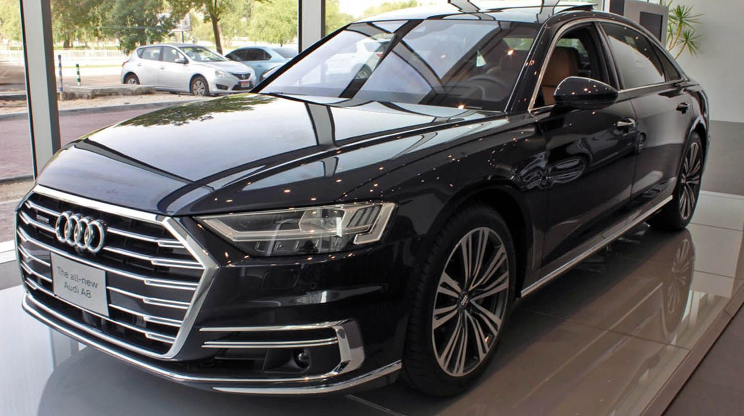 Black Audi A8 2018 My Dream Rides Audi Sedan Black Audi Audi A8