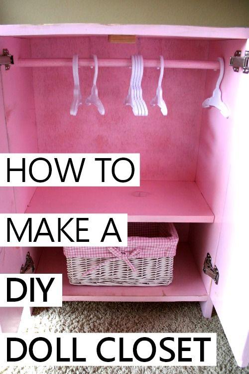 DIY doll closet -   11 DIY Clothes Closet fun ideas