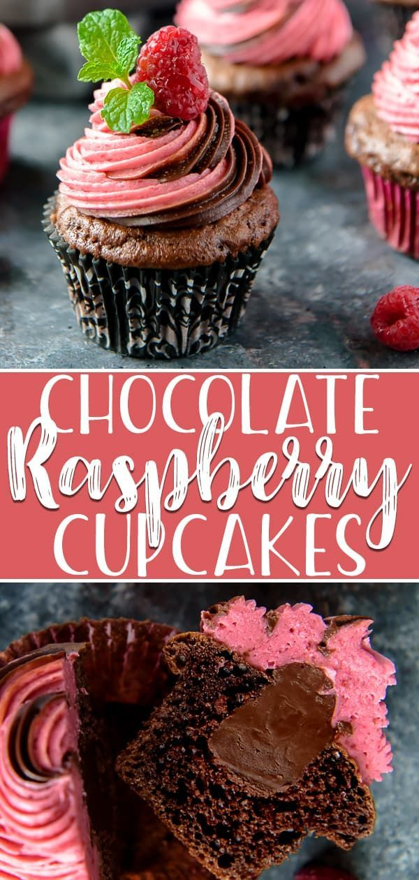 Make any celebration extra special with a batch of these decadent Chocolate Raspberry Cupcakes! Moist chocolate cupcakes, filled with rich ganache, are crowned with a fluffy, homemade raspberry buttercream made with fresh berries.