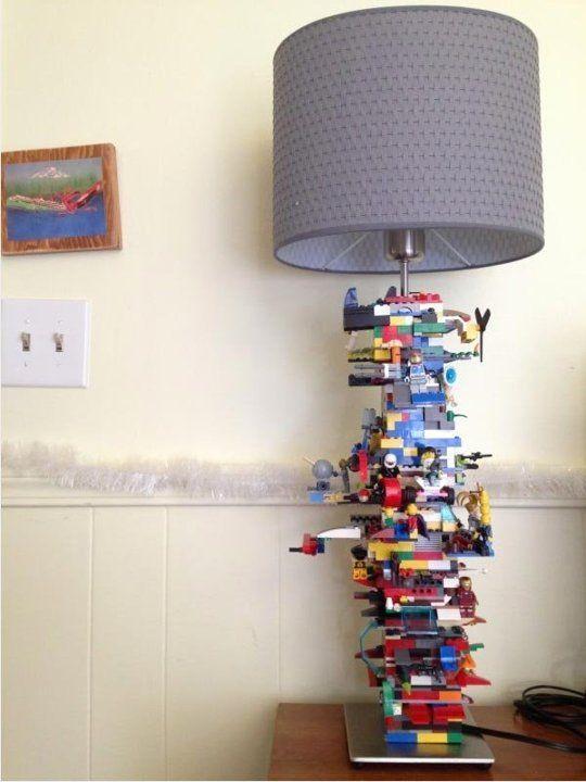 10 awesome diy ikea hacks for kids room lighting - Boys Room Lego Ideas