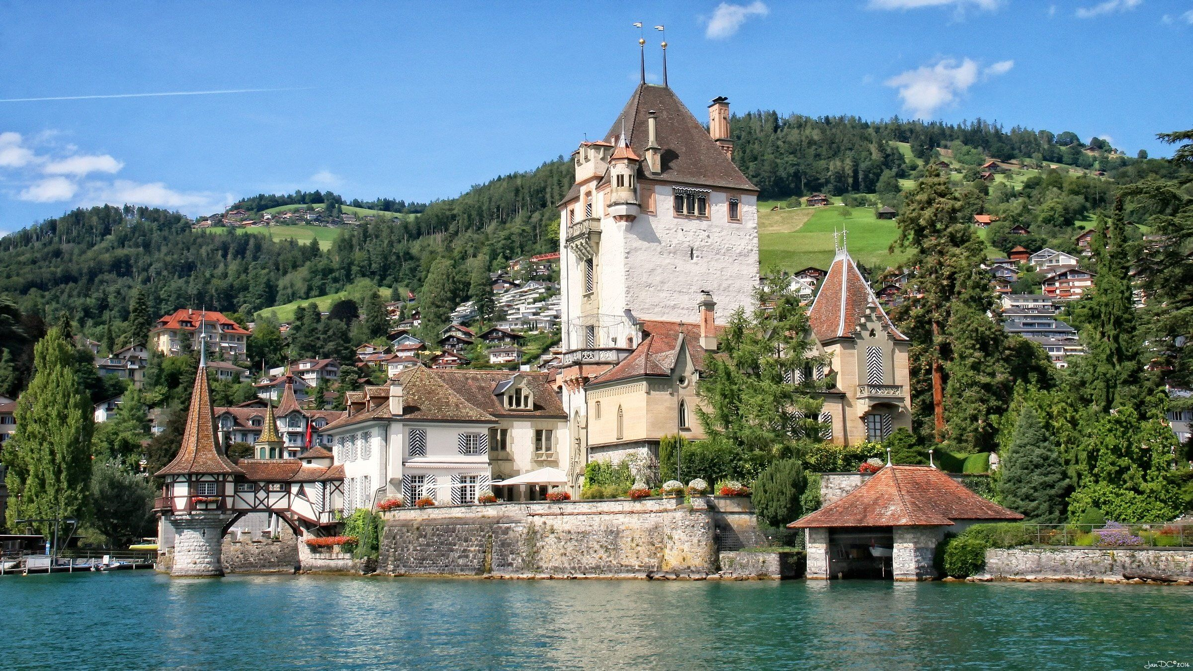 Thun Castle Switzerland Oberhofen Castle Switzerland Lake Thun