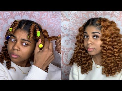 QUICK & EASY FLEXI ROD HACK | NATURAL HAIR