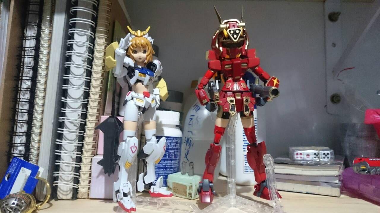 【改造模型】赤紅文奈... Gundam build fighters try season 2