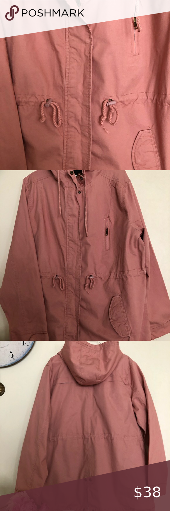 Ambiance Lightweight Jacket Ambiance Outerwear 3x Great Jacket Zip Snap Front Closer Hood With Drawstring An Lightweight Jacket Jackets Clothes Design [ 1740 x 580 Pixel ]