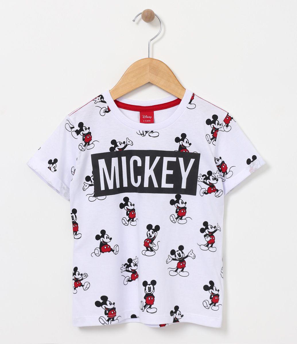 Camiseta infantil Manga curta Gola redonda Estampada Marca  Mickey Mouse  Tecido  meia malha COLEÇÃO VERÃO 2017 Veja mais opções de camisetas infantis . c4a801b03e0