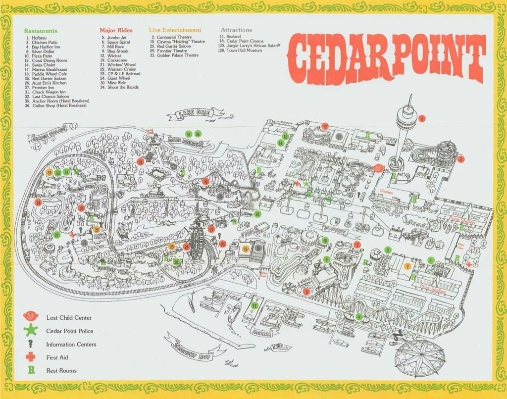 Map of Cedar Point | Memorable Places in 2019 | Theme park ... Sandusky Map on broadview heights map, marlette map, cedar point map, davison township map, masury map, burney map, rose city map, luna pier map, south vienna map, holmes map, new phila map, elida map, pickerington map, ohio map, st. ignace map, salem center map, jones valley map, west geauga map, cedartown map, blacklick map,