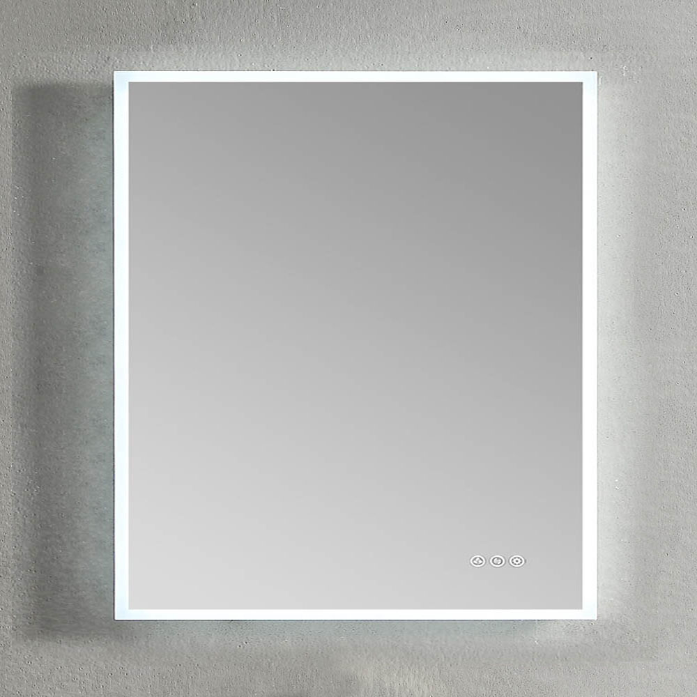Blossom 30 X 36 Inch Mirror With Light Beta Frosted Sides Mirror With Lights Mirror Custom Shower Doors [ 1000 x 1000 Pixel ]