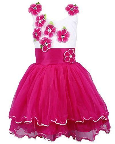 57d8c3d2a5a39 Wish-Karo-Party-wear-Baby-Girls-Frock-Dress-DNfe195bpnk-fe195bpnk-3-4-Yrs-0