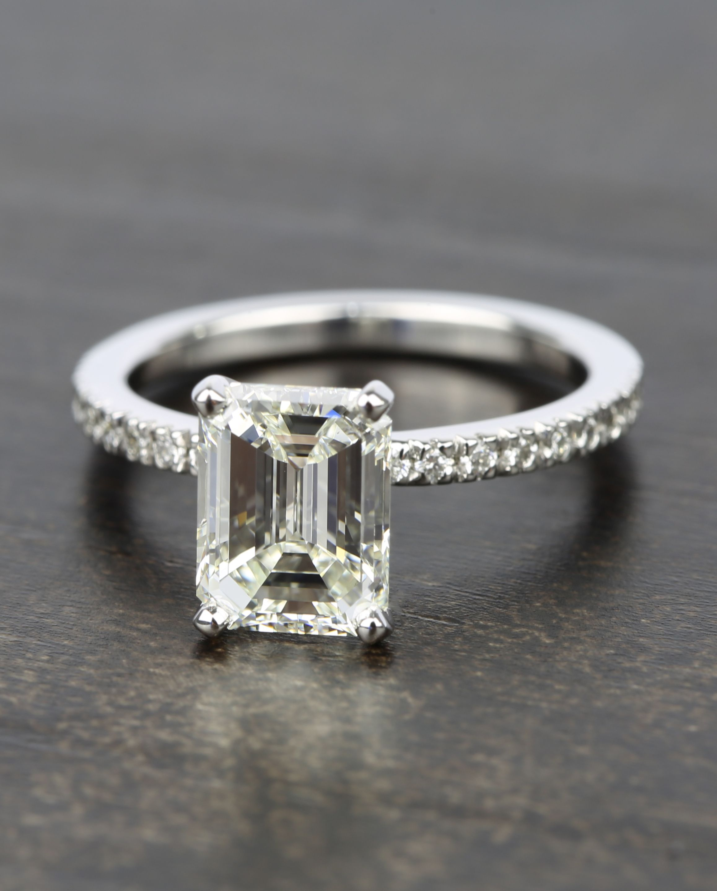jewelry jewellery london two by pave ring halo settings bridal cushion setting engagement