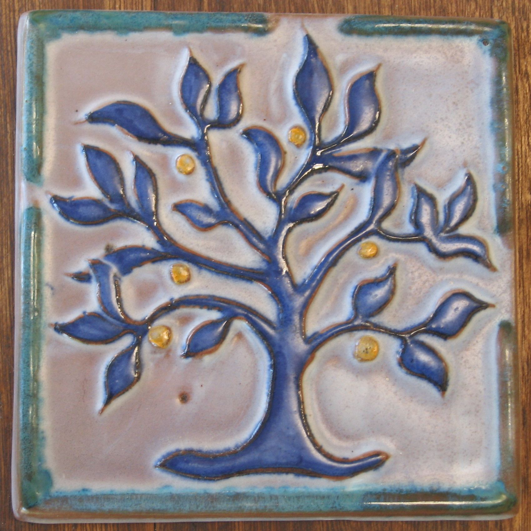 How to make a mould for slipcasting of relief tiles pottery ceramic relief tile dailygadgetfo Choice Image