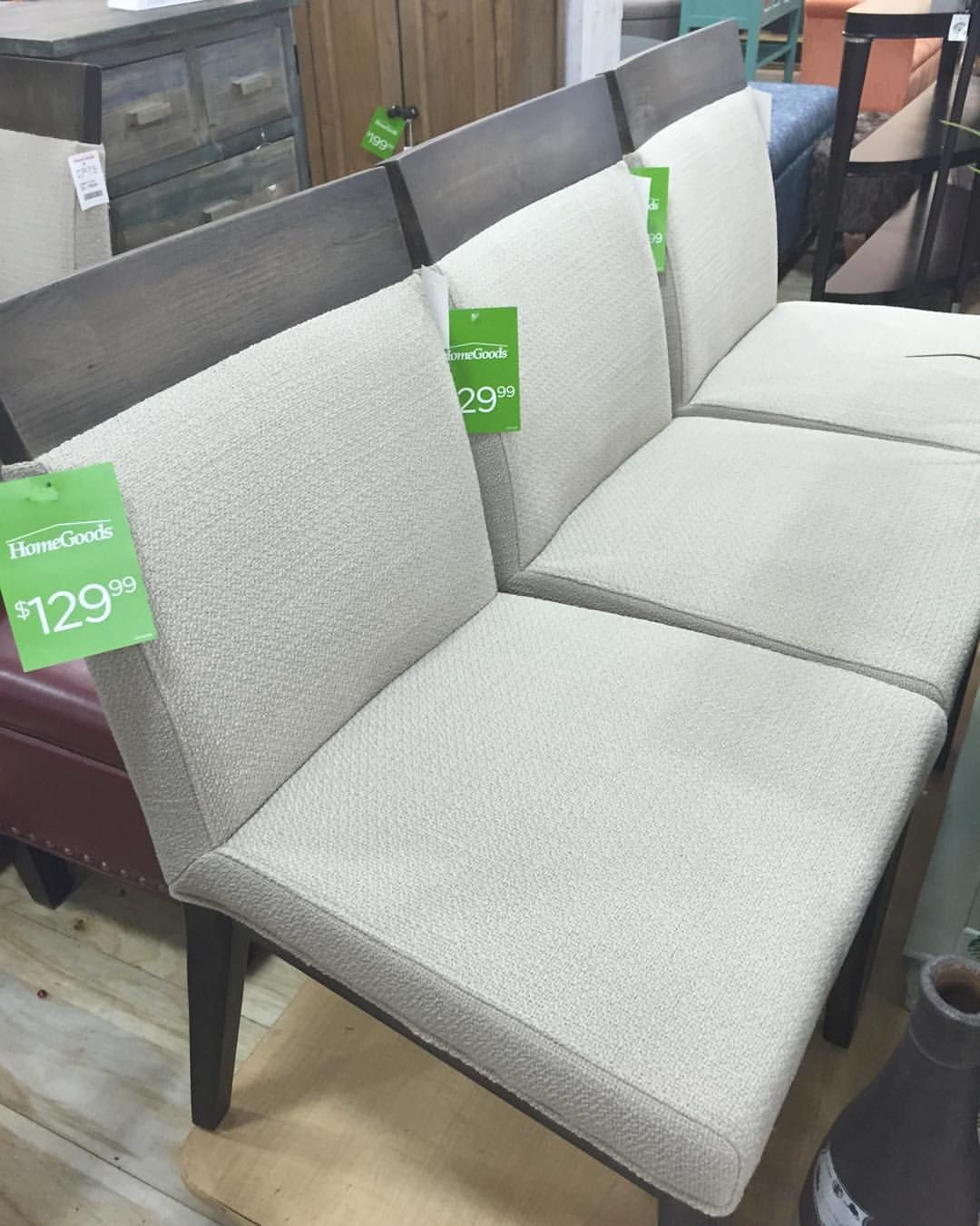 Mixed media accent chairs from homegoods furniture livingspace homedecor