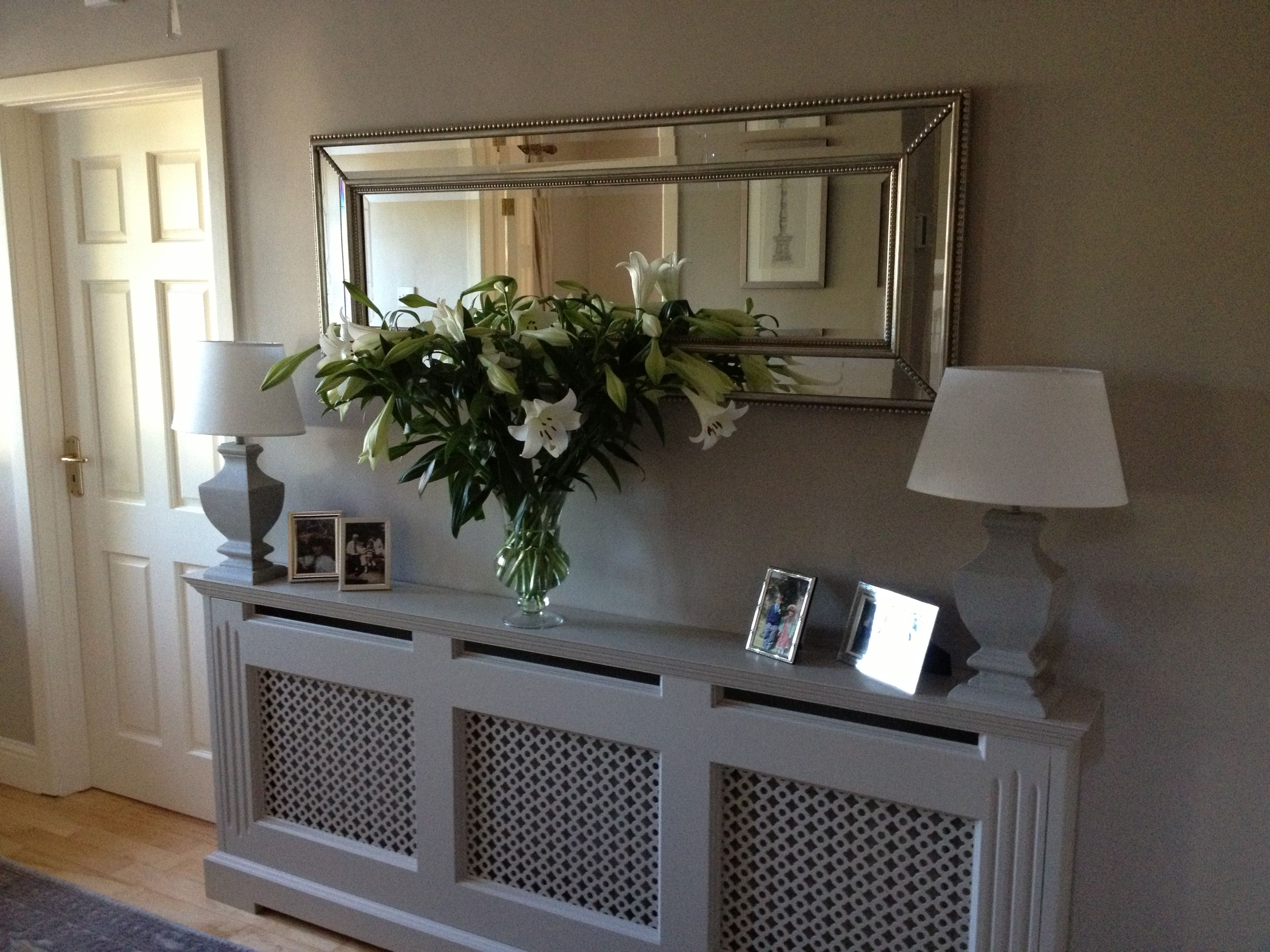 Entry Hall Cabinet radiator coverkevin o'rourke | hallways | pinterest