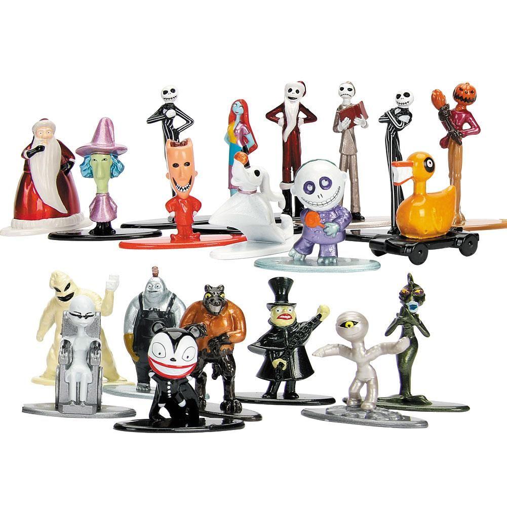 Set of 20 Tim Burton\'s Nightmare Before Christmas Nano Figures 2 in ...