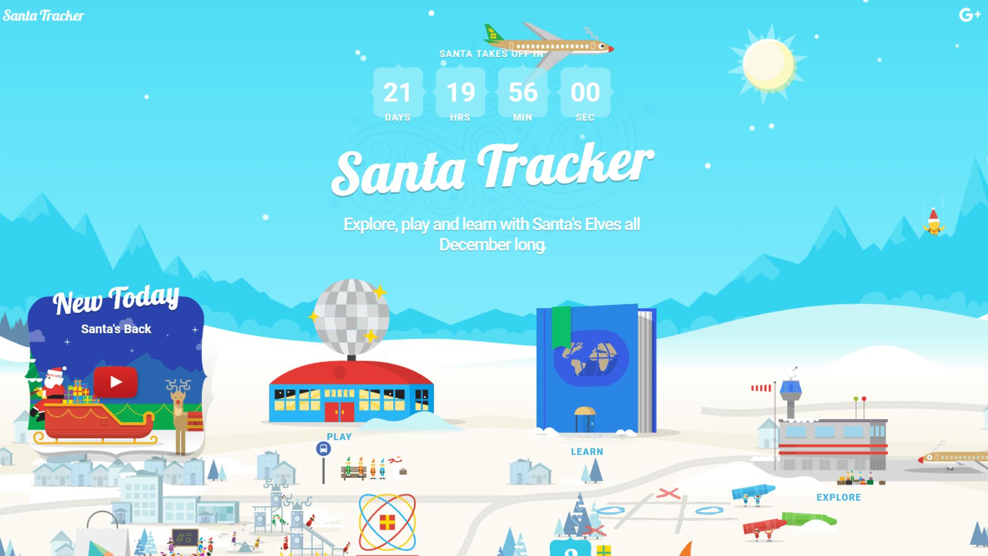Google's 2016 Santa Tracker signals the official countdown