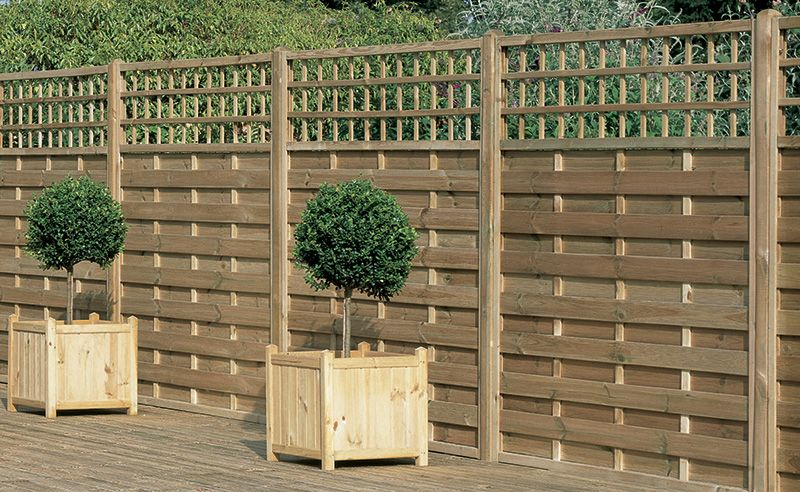 Europa Montreal Panel A Decorative Heavy Duty Fence