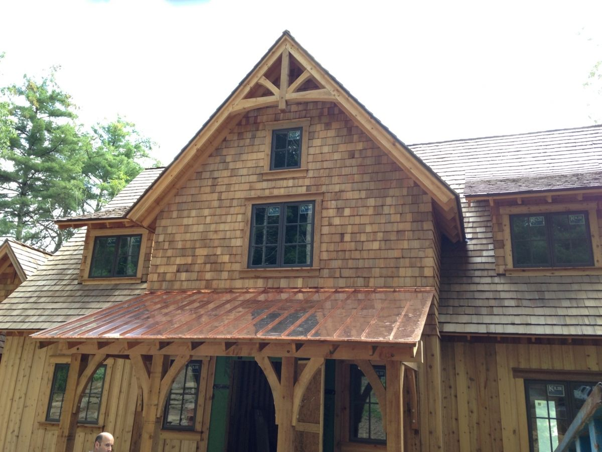 Timber Frame Porch, Deck & Entrance Projects Built By