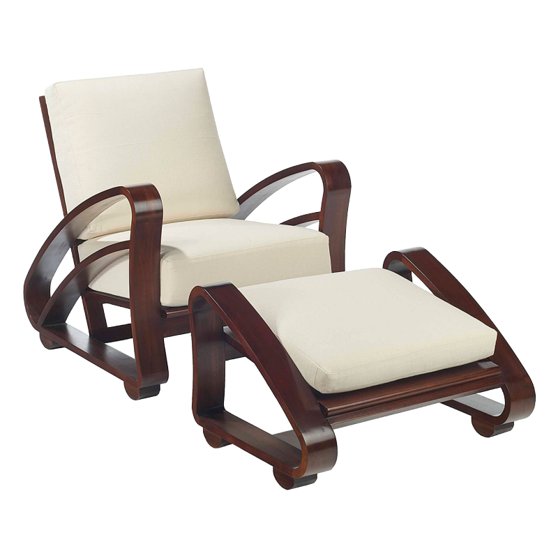 Selamat Designs // Cuban Teak Lounge Chair - crop image