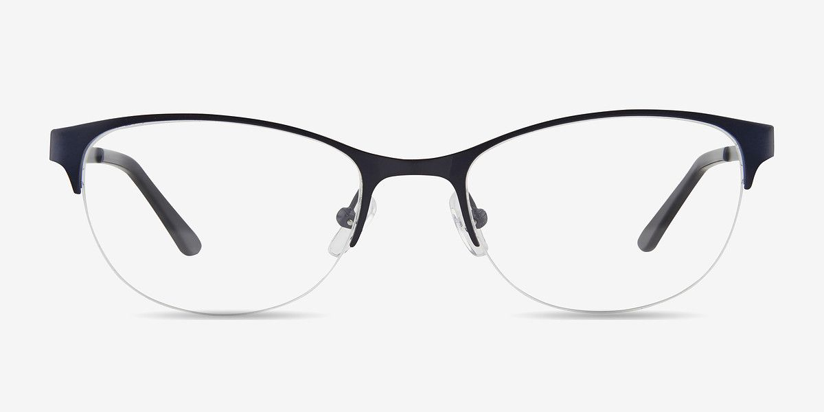 b3fa0f2164 Melody Navy Metal Eyeglasses from EyeBuyDirect. Exceptional style ...