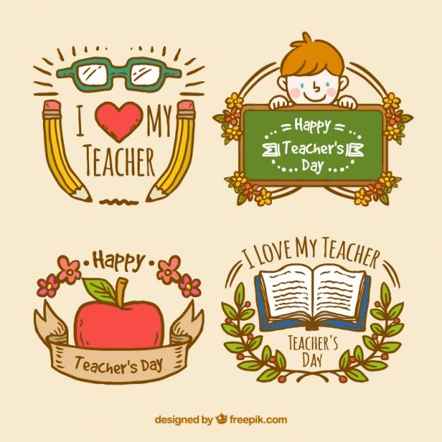 Download Teachers Day Badges For Free Teachers Day Teachers Day Card Teacher Appreciation Printables