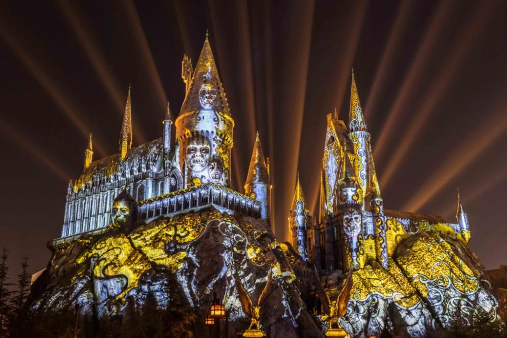 Dark Arts at Hogwarts Castle at Universal s Islands of Adventure