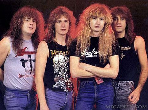 Guns N' Roses, Megadeth and Metallica | Jeff Young Picture ...