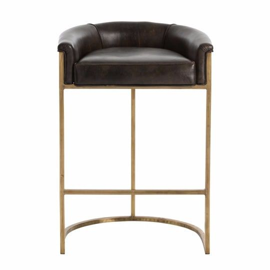 Calvin Bar Stool Contemporary Industrial Traditional