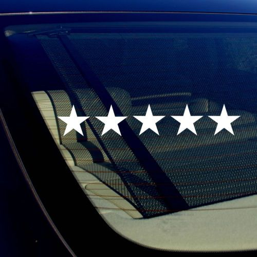 Five star 5 star funny gta drifting racing dope vinyl decal sticker inches