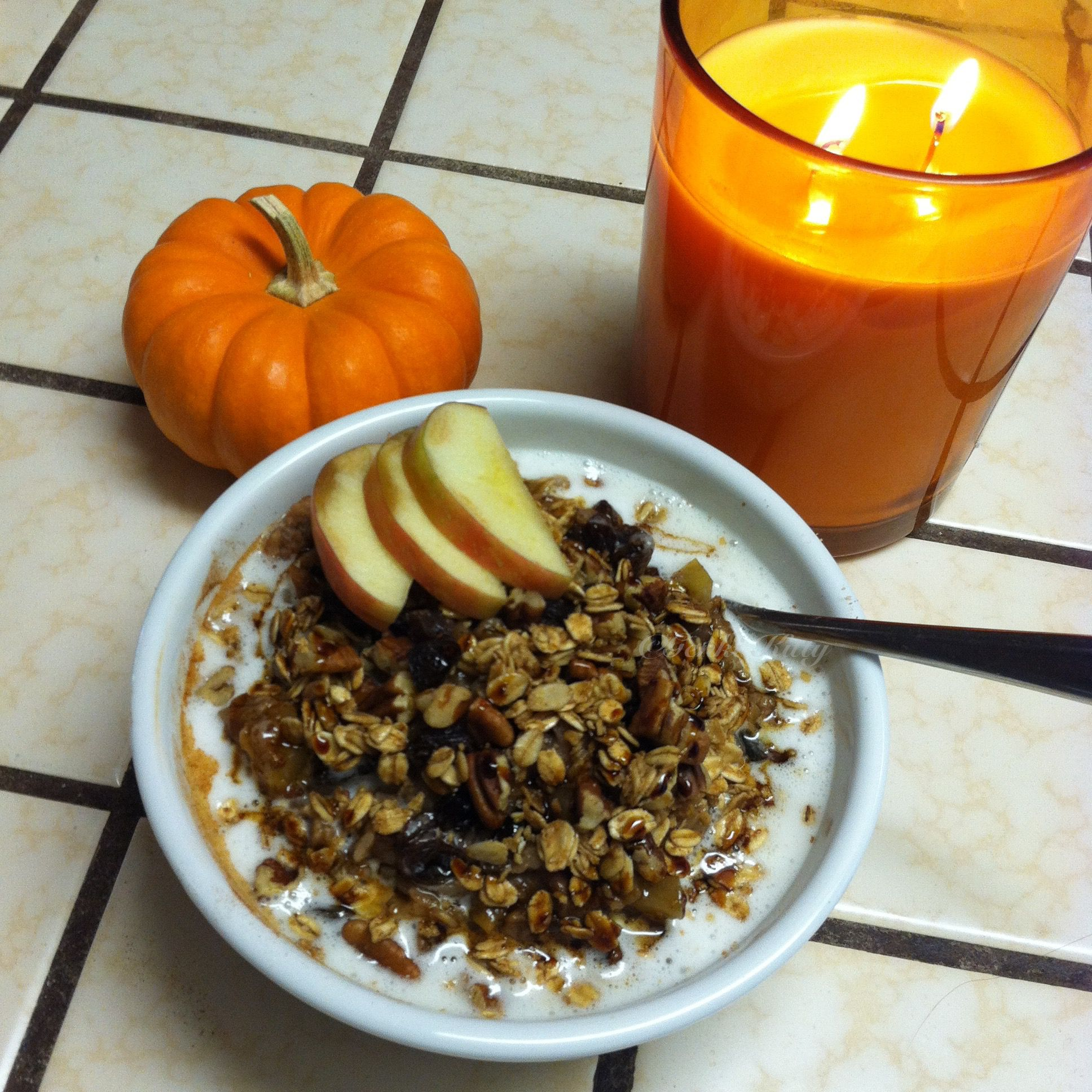 Spice Apple Breakfast Bowl