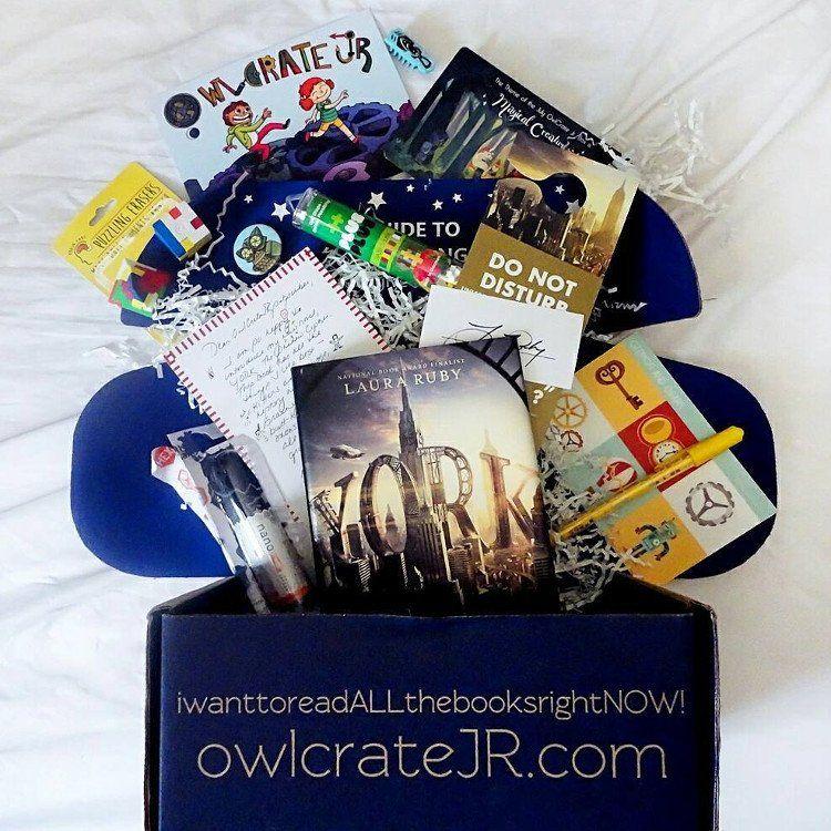 Owlcrate Jr Subscription Box Book Subscription Box Book Subscription Gifts For Readers