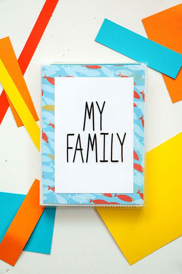 DIY Family Photo Book