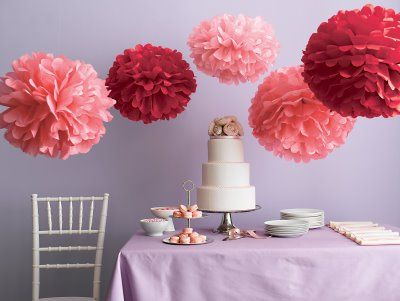 decorating round tables at a wedding | Decorations Are Almost Done! | Weddingbee