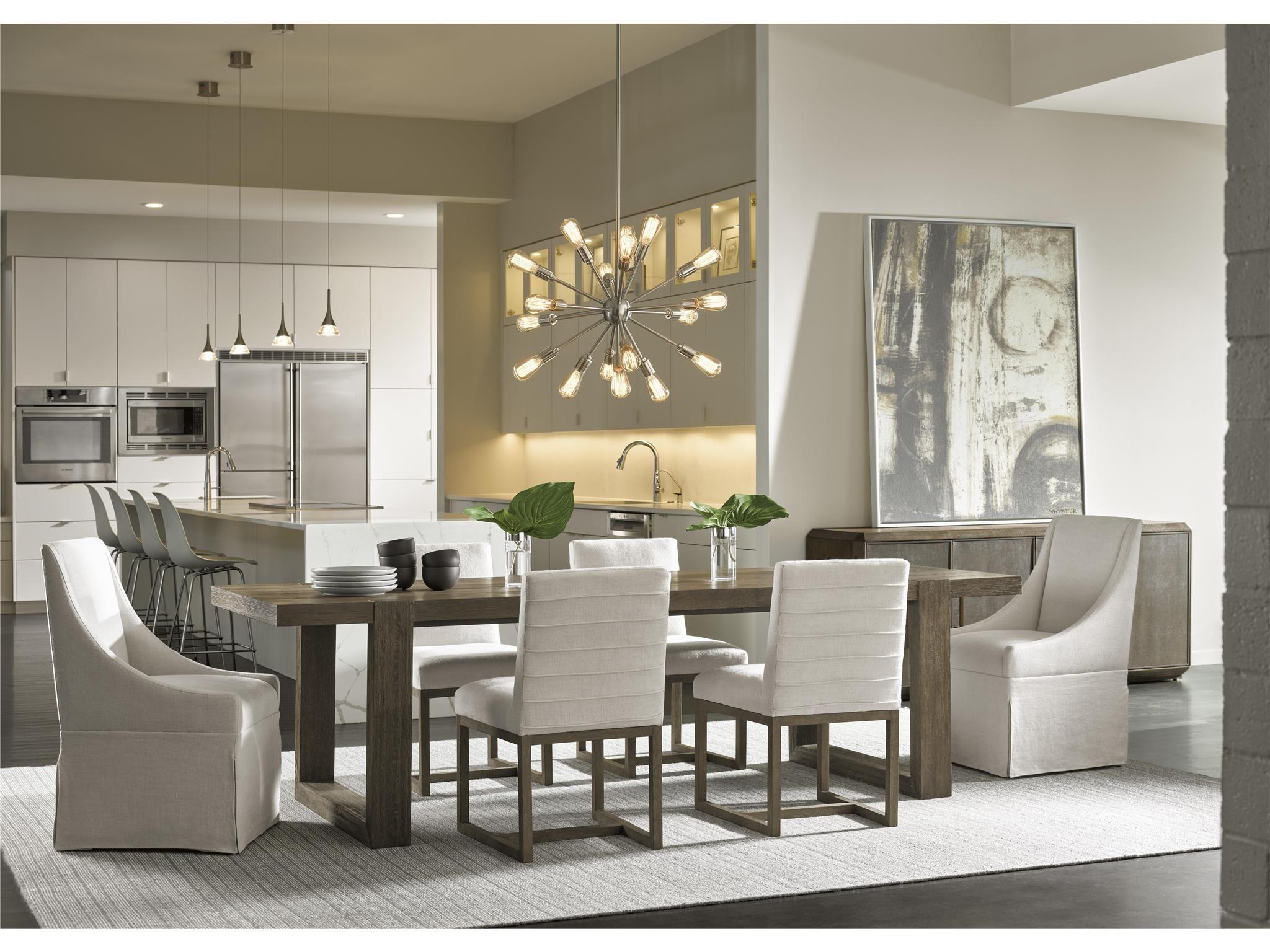 Universal Furniture Modern Desmond Dining Table Modern