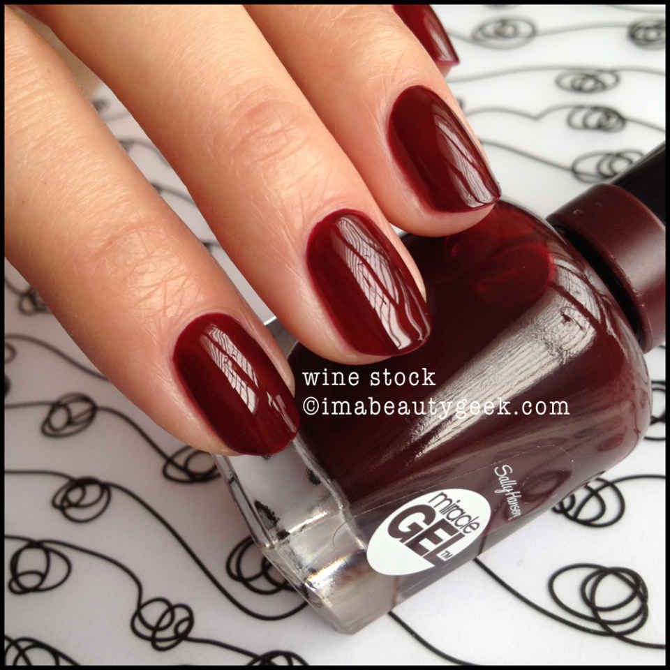 sally hansen wine stock I am loving this for the fall!   Nails ...
